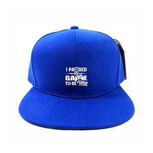 Paused Game Hat Cap One Size Adjustable Snapback